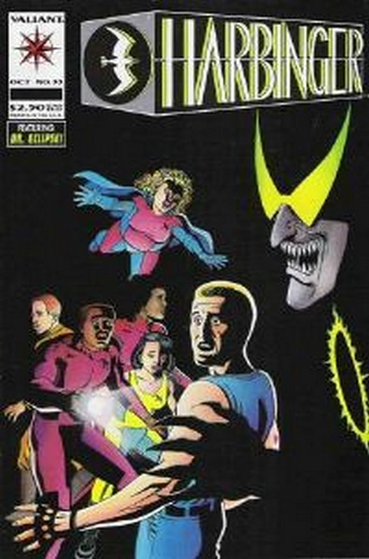 Cover of Harbinger (Vol 1) #33. One of 250,000 Vintage American Comics on sale from Krypton!