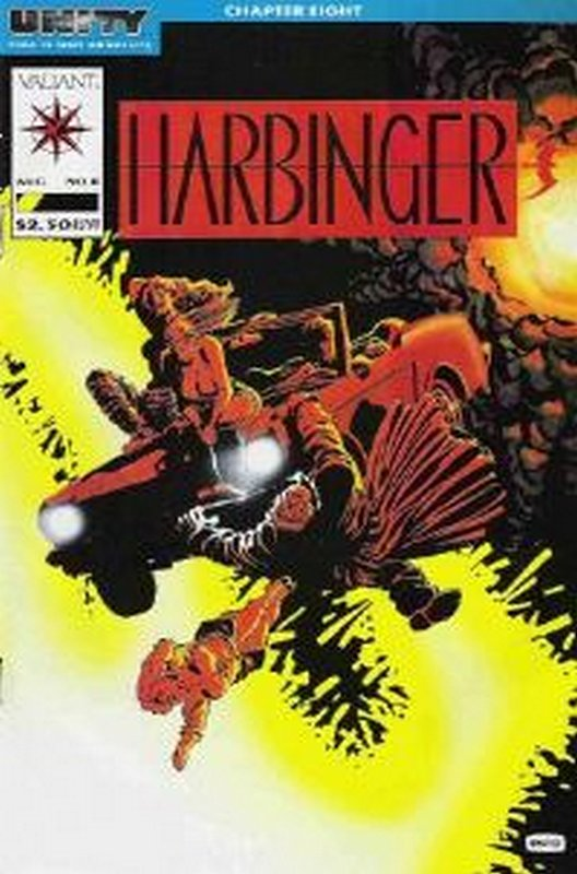 Cover of Harbinger (Vol 1) #8. One of 250,000 Vintage American Comics on sale from Krypton!