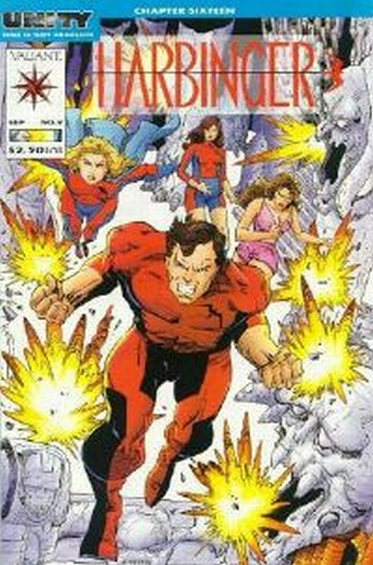 Cover of Harbinger (Vol 1) #9. One of 250,000 Vintage American Comics on sale from Krypton!