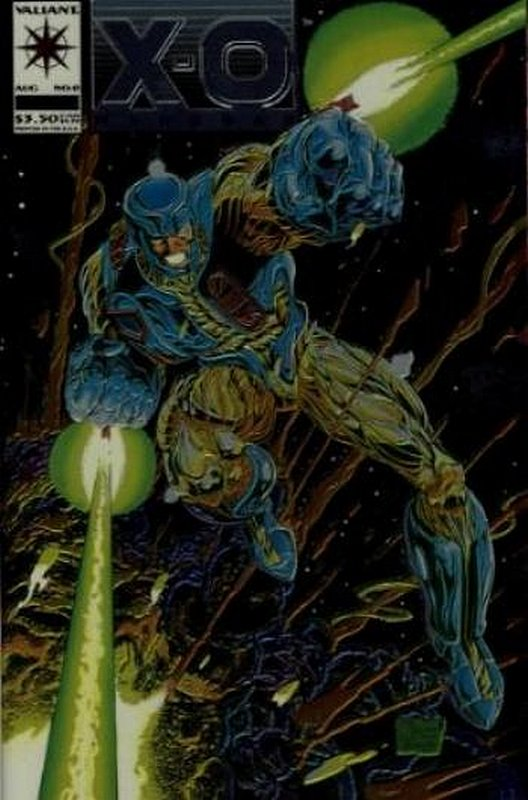 Cover of X-O Manowar (Vol 1) #0. One of 250,000 Vintage American Comics on sale from Krypton!