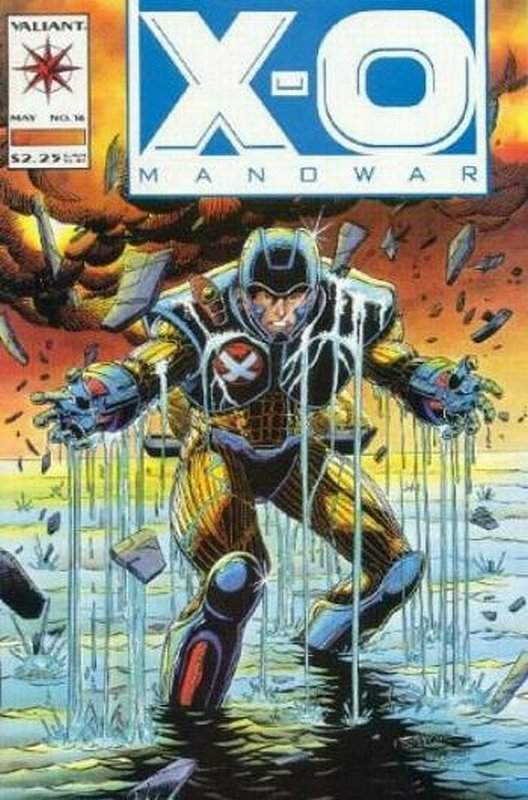 Cover of X-O Manowar (Vol 1) #16. One of 250,000 Vintage American Comics on sale from Krypton!