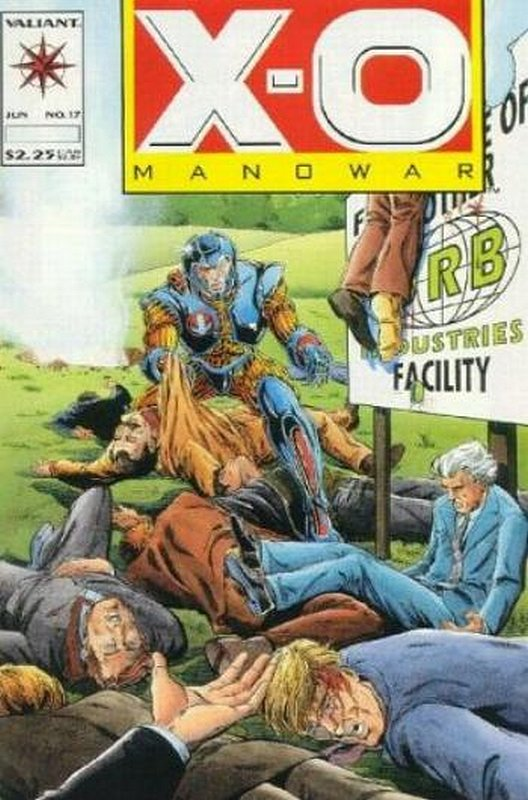 Cover of X-O Manowar (Vol 1) #17. One of 250,000 Vintage American Comics on sale from Krypton!