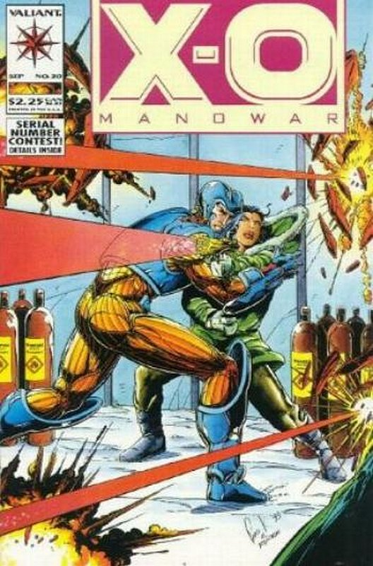 Cover of X-O Manowar (Vol 1) #20. One of 250,000 Vintage American Comics on sale from Krypton!
