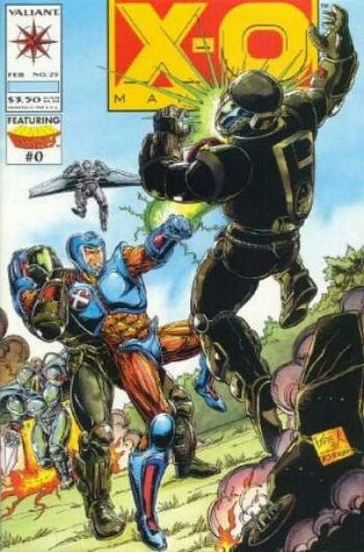 Cover of X-O Manowar (Vol 1) #25. One of 250,000 Vintage American Comics on sale from Krypton!