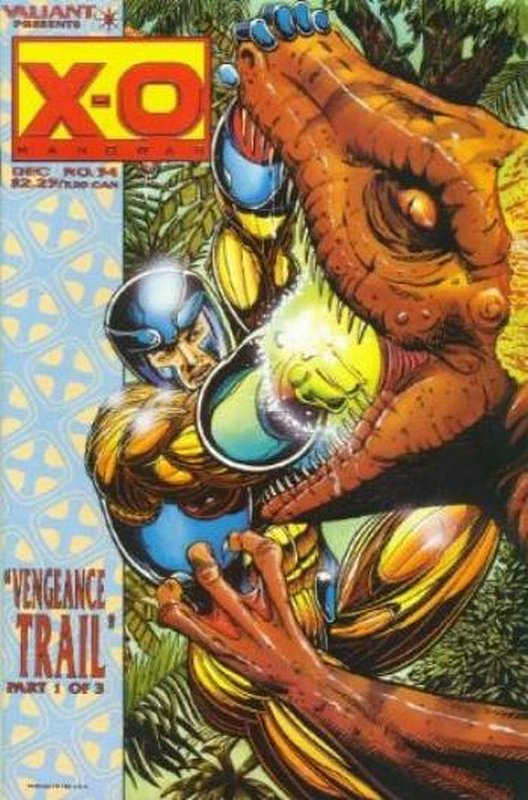 Cover of X-O Manowar (Vol 1) #34. One of 250,000 Vintage American Comics on sale from Krypton!
