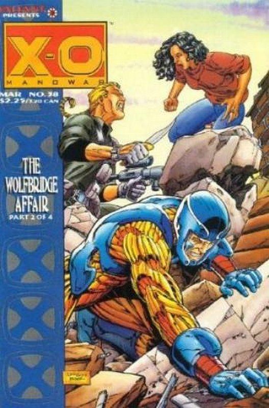 Cover of X-O Manowar (Vol 1) #38. One of 250,000 Vintage American Comics on sale from Krypton!