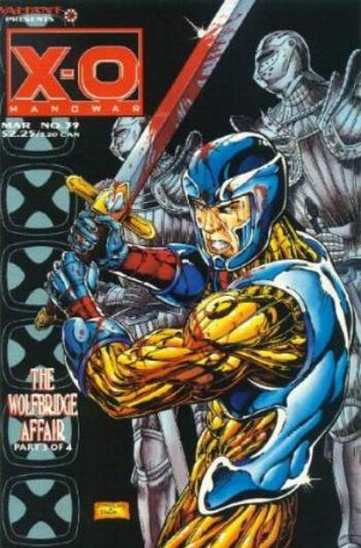 Cover of X-O Manowar (Vol 1) #39. One of 250,000 Vintage American Comics on sale from Krypton!