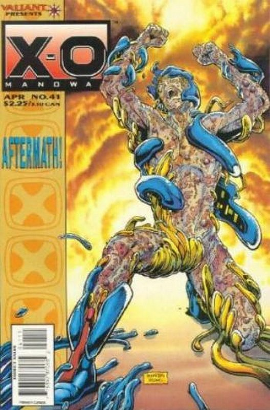 Cover of X-O Manowar (Vol 1) #41. One of 250,000 Vintage American Comics on sale from Krypton!