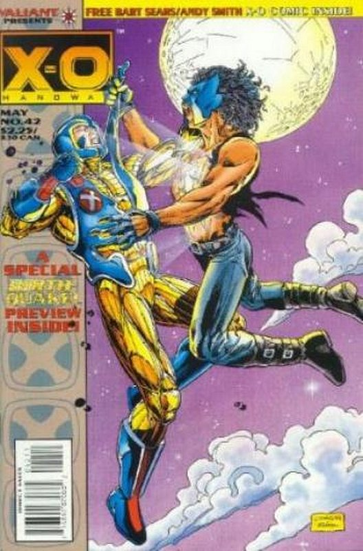 Cover of X-O Manowar (Vol 1) #42. One of 250,000 Vintage American Comics on sale from Krypton!