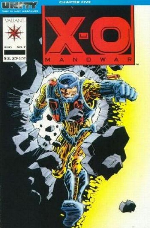 Cover of X-O Manowar (Vol 1) #7. One of 250,000 Vintage American Comics on sale from Krypton!