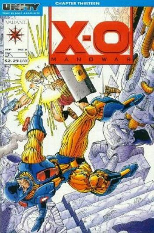 Cover of X-O Manowar (Vol 1) #8. One of 250,000 Vintage American Comics on sale from Krypton!