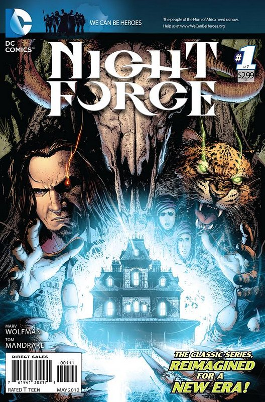 Cover of Night Force (2012 Ltd) #1. One of 250,000 Vintage American Comics on sale from Krypton!