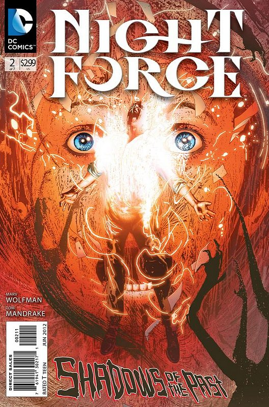 Cover of Night Force (2012 Ltd) #2. One of 250,000 Vintage American Comics on sale from Krypton!