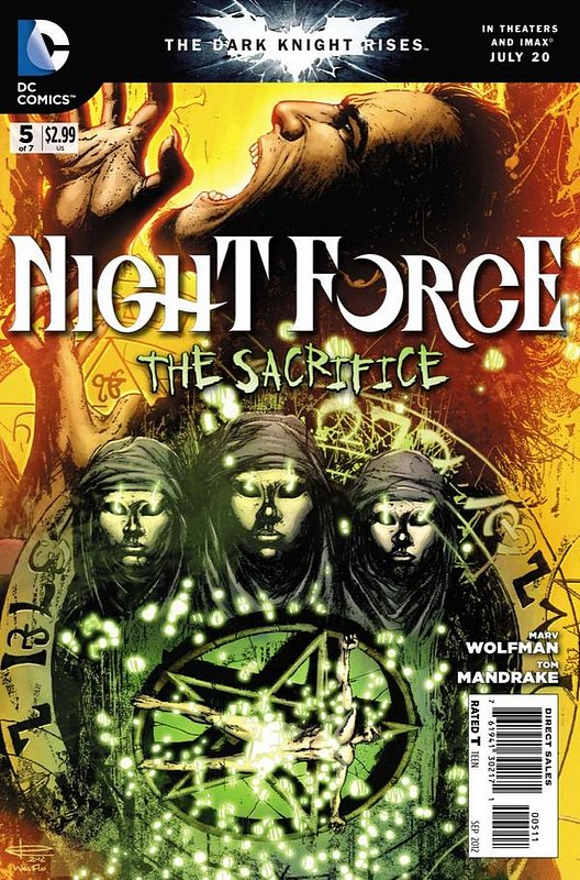 Cover of Night Force (2012 Ltd) #5. One of 250,000 Vintage American Comics on sale from Krypton!
