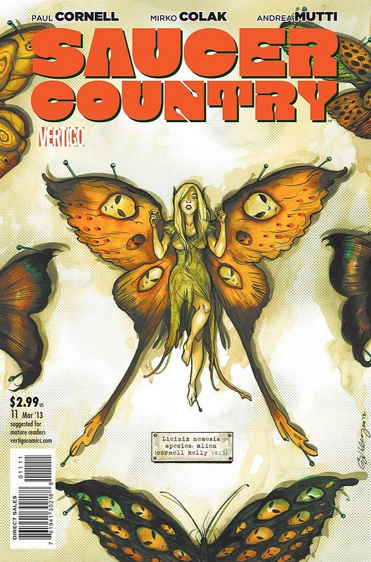 Cover of Saucer Country (Vol 1) #11. One of 250,000 Vintage American Comics on sale from Krypton!
