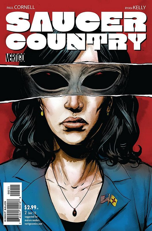 Cover of Saucer Country (Vol 1) #2. One of 250,000 Vintage American Comics on sale from Krypton!