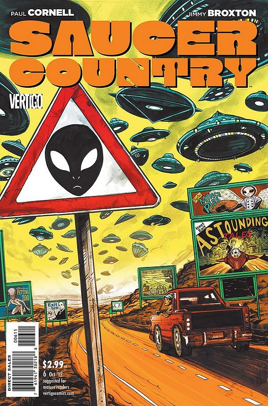 Cover of Saucer Country (Vol 1) #6. One of 250,000 Vintage American Comics on sale from Krypton!