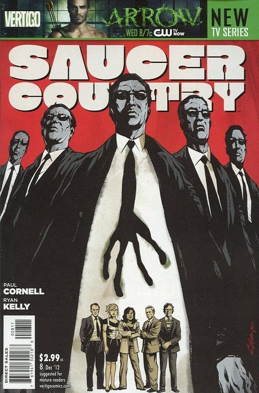 Cover of Saucer Country (Vol 1) #8. One of 250,000 Vintage American Comics on sale from Krypton!