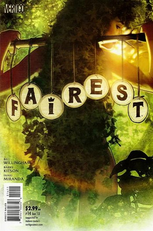 Cover of Fairest (Vol 1) #14. One of 250,000 Vintage American Comics on sale from Krypton!