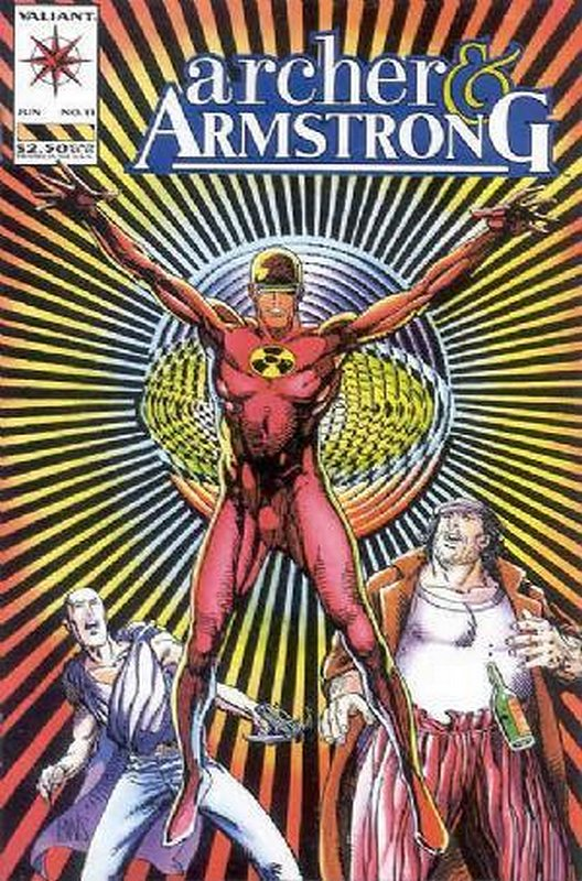 Cover of Archer & Armstrong (Vol 1) #11. One of 250,000 Vintage American Comics on sale from Krypton!