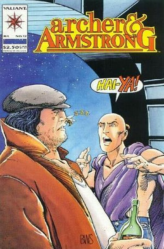 Cover of Archer & Armstrong (Vol 1) #12. One of 250,000 Vintage American Comics on sale from Krypton!