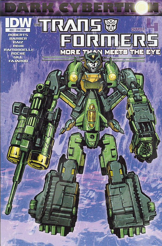 Cover of Transformers: More Than Meets the Eye #24. One of 250,000 Vintage American Comics on sale from Krypton!