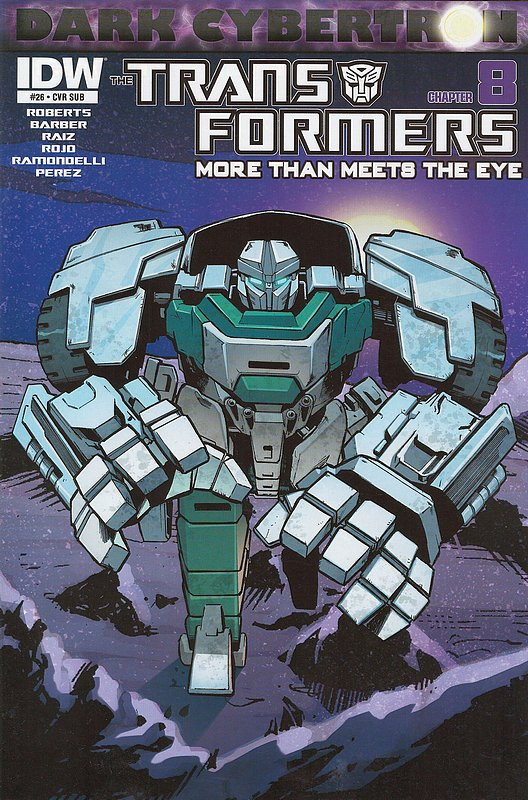 Cover of Transformers: More Than Meets the Eye #26. One of 250,000 Vintage American Comics on sale from Krypton!