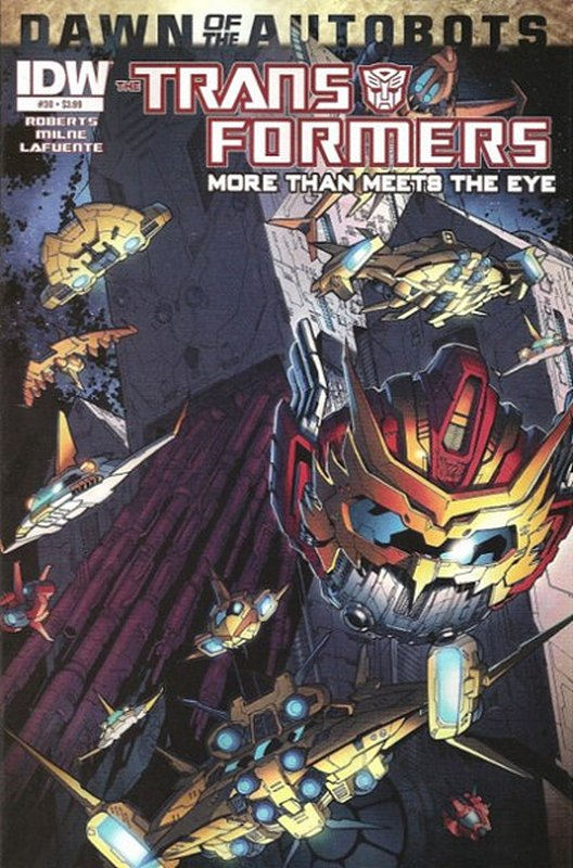 Cover of Transformers: More Than Meets the Eye #30. One of 250,000 Vintage American Comics on sale from Krypton!