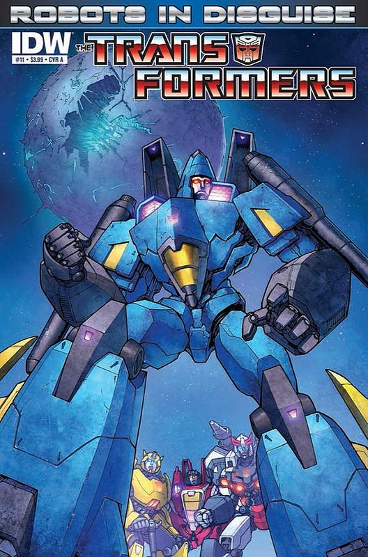 Cover of Transformers: Robots in Disguise #11. One of 250,000 Vintage American Comics on sale from Krypton!