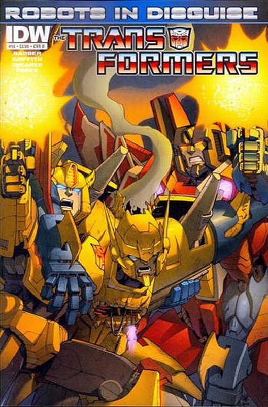 Cover of Transformers: Robots in Disguise #16. One of 250,000 Vintage American Comics on sale from Krypton!