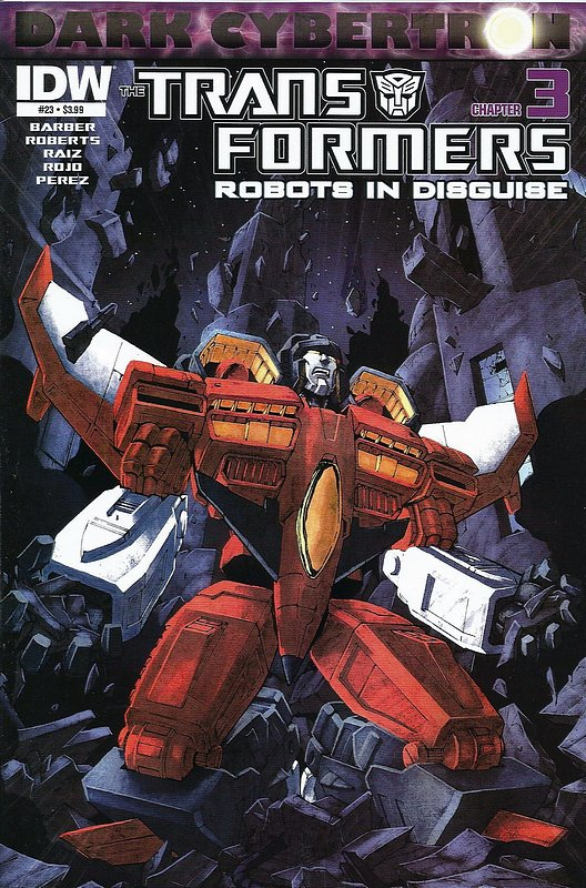 Cover of Transformers: Robots in Disguise #23. One of 250,000 Vintage American Comics on sale from Krypton!