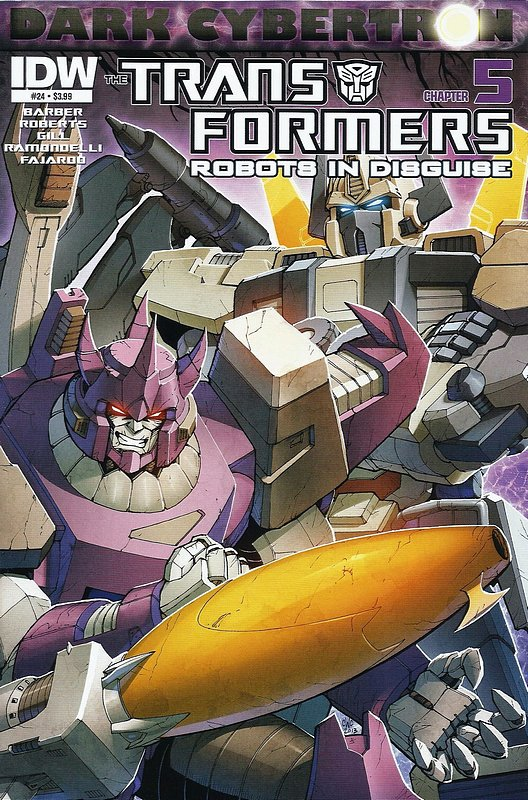 Cover of Transformers: Robots in Disguise #24. One of 250,000 Vintage American Comics on sale from Krypton!