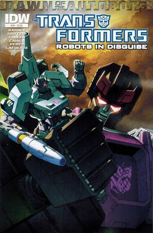 Cover of Transformers: Robots in Disguise #30. One of 250,000 Vintage American Comics on sale from Krypton!