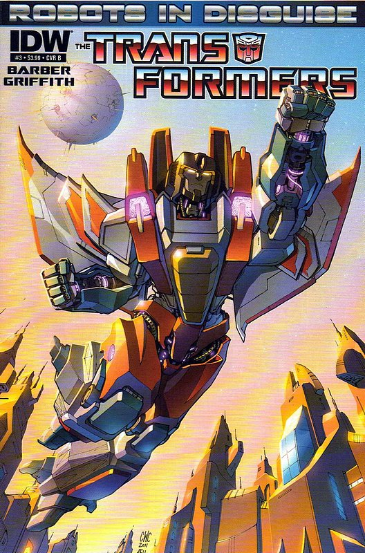 Cover of Transformers: Robots in Disguise #3. One of 250,000 Vintage American Comics on sale from Krypton!