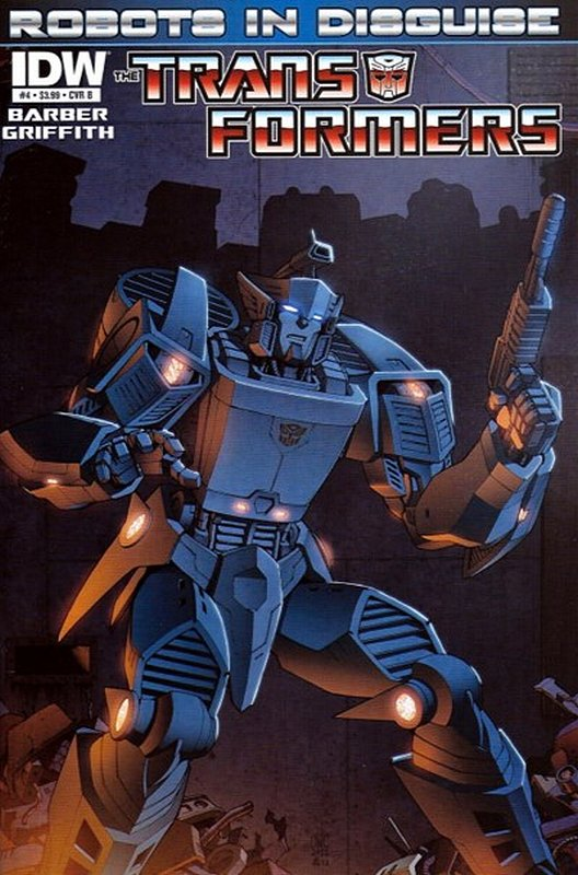 Cover of Transformers: Robots in Disguise #4. One of 250,000 Vintage American Comics on sale from Krypton!