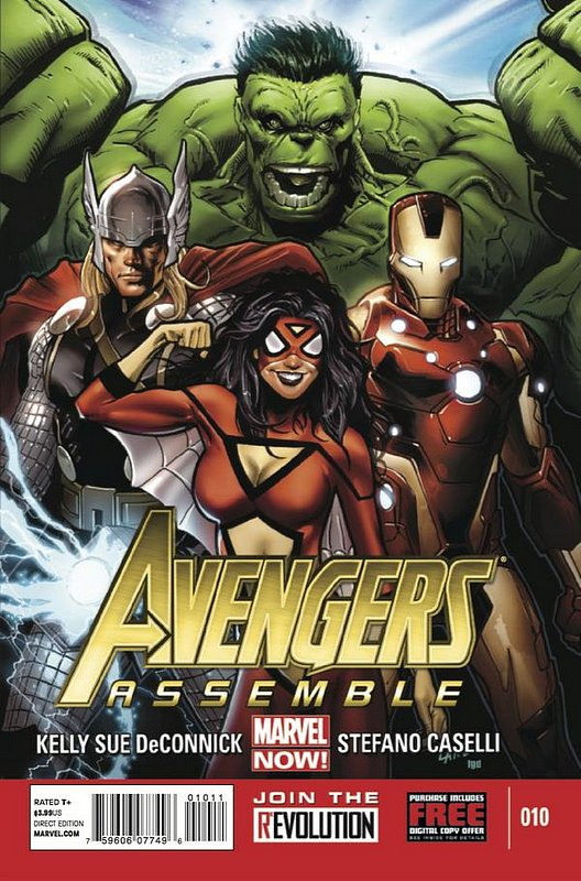 Cover of Avengers Assemble (Vol 1) #10. One of 250,000 Vintage American Comics on sale from Krypton!