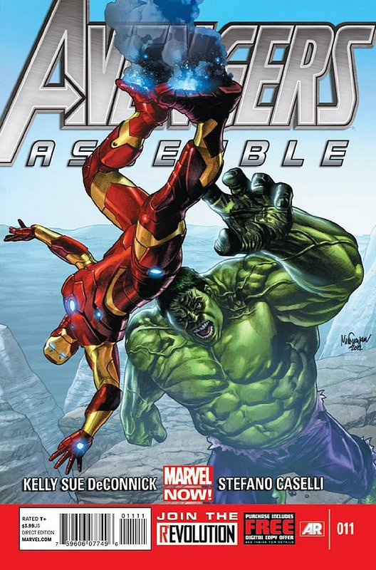 Cover of Avengers Assemble (Vol 1) #11. One of 250,000 Vintage American Comics on sale from Krypton!