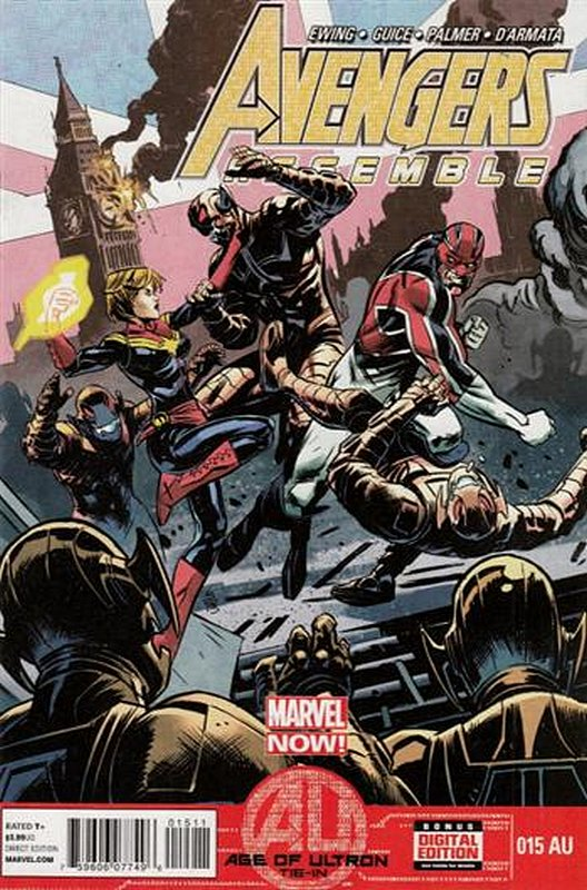 Cover of Avengers Assemble (Vol 1) #15. One of 250,000 Vintage American Comics on sale from Krypton!