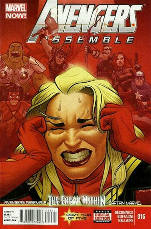 Cover of Avengers Assemble (Vol 1) #16. One of 250,000 Vintage American Comics on sale from Krypton!