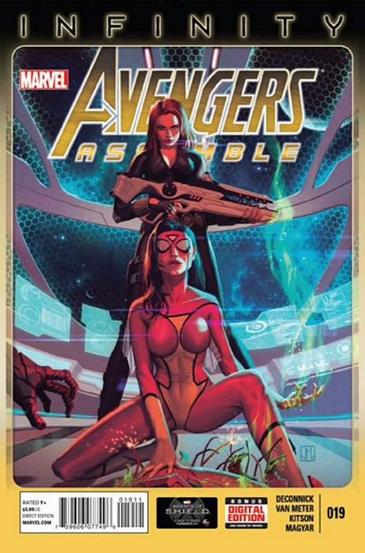 Cover of Avengers Assemble (Vol 1) #19. One of 250,000 Vintage American Comics on sale from Krypton!