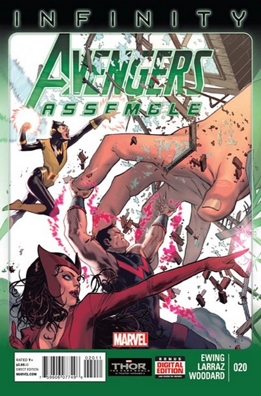Cover of Avengers Assemble (Vol 1) #20. One of 250,000 Vintage American Comics on sale from Krypton!