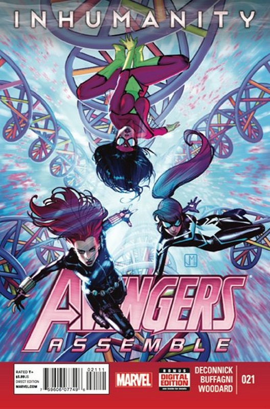Cover of Avengers Assemble (Vol 1) #21. One of 250,000 Vintage American Comics on sale from Krypton!