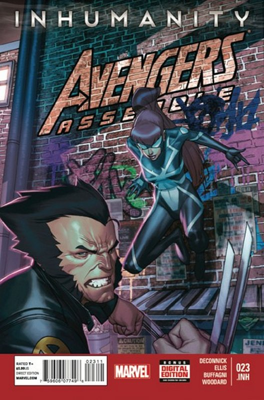 Cover of Avengers Assemble (Vol 1) #23. One of 250,000 Vintage American Comics on sale from Krypton!