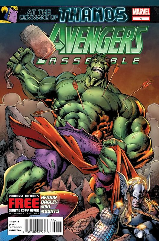 Cover of Avengers Assemble (Vol 1) #4. One of 250,000 Vintage American Comics on sale from Krypton!