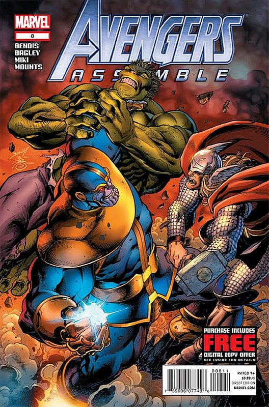 Cover of Avengers Assemble (Vol 1) #8. One of 250,000 Vintage American Comics on sale from Krypton!