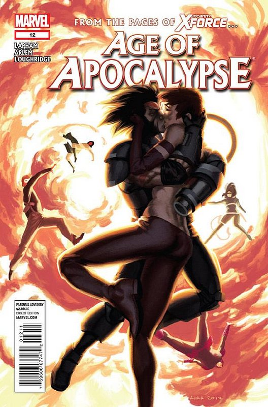 Cover of Age of Apocalypse (2012) #12. One of 250,000 Vintage American Comics on sale from Krypton!