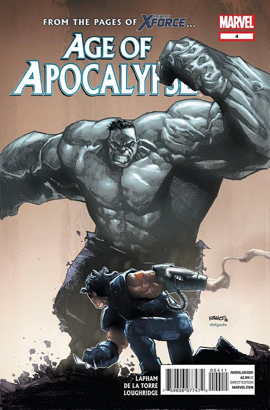 Cover of Age of Apocalypse (2012) #4. One of 250,000 Vintage American Comics on sale from Krypton!