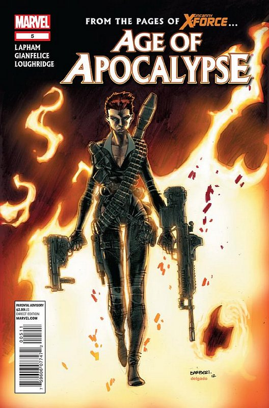 Cover of Age of Apocalypse (2012) #5. One of 250,000 Vintage American Comics on sale from Krypton!