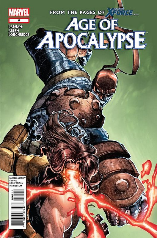 Cover of Age of Apocalypse (2012) #6. One of 250,000 Vintage American Comics on sale from Krypton!