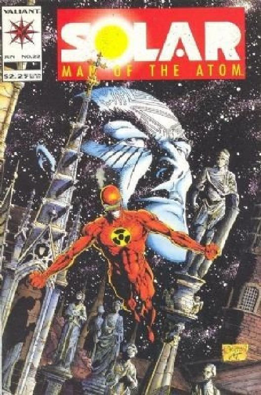 Cover of Solar Man of the Atom (Vol 1) #22. One of 250,000 Vintage American Comics on sale from Krypton!